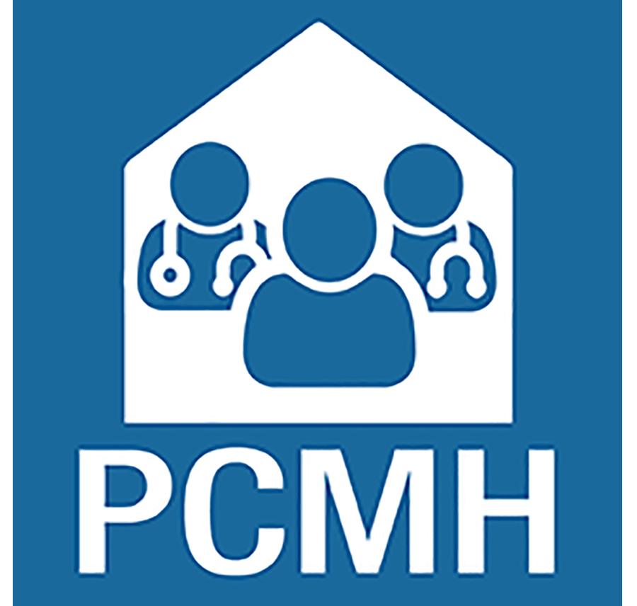 Patient Centered Medical Home blue logo