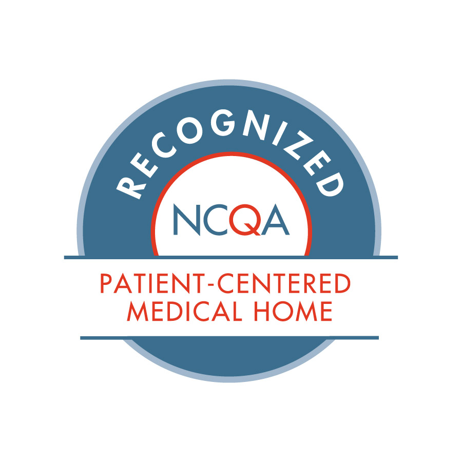A seal recognizing Lifespan as a Recognized NCWA Patient-Centered Medical Home.
